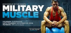 #SupportMilitaryMuscle  ....... BodyGroup Of The Month: Military Muscle     No value can be placed on vital support from your community, colleagues and family. Nothing can overpower a group united by core values.     http://www.bodybuilding.com/fun/bodygroup-of-the-month-military-muscle.html