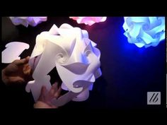 30 Elemente puzzel lamp Bauanleitung / instructie - YouTube
