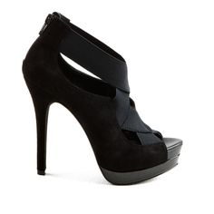 Never go wrong with a simple black heel. And it's a JS!