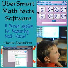 """UberSmart #Math Facts #Review """"The results told me exactly how many of the given problems were missed, and how much time he spent on it."""" #homeschool"""