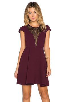 #REVOLVEclothing - I so love fit and flair dresses and this one is perfection