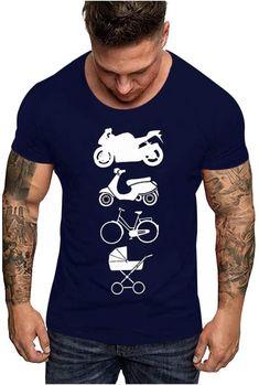 Bekleidung, Herren, Tops, T-Shirts & Hemden, T-Shirts Herren T Shirt, Mens Tops, Fashion, Button Up Shirts, Father's Day, Blouse, Summer, Clothing, Moda