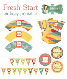 check out this roundup of birthday party printables that you can use to prettify your party