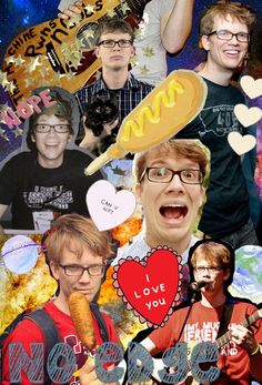 Hank Green is perfect. Nothing is better than when your bio teacher puts on crashcourse and you start hardcore fangirling because it's Hank