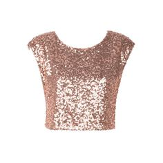 Allover Sequin Short-Sleeve I need this Teen Fashion, Love Fashion, Fashion Outfits, Fashion Tips, Fashion Design, Fancy Tops, Dress Alterations, Mode Style, Classy Outfits