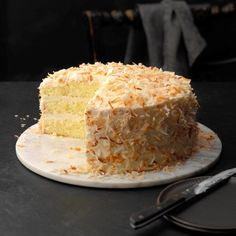 Coconut Chiffon Cake - Hi, readers! Now I'll share the most unbelievable Cake Ideas that i really love it ~~ Just Click This Pin To Read Specific Clue ~~ Hope you love it x?D Cake Food Cakes, Cupcake Cakes, Just Desserts, Dessert Recipes, Layer Cake Recipes, Bolos Naked Cake, Chiffon Cake, Ruffle Cake, Cake Mix Cookies
