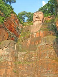 Gran Buda Leshan, China