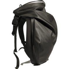 Cote&Ciel Nile Obsidian Polyester Backpack | Obsidian Black
