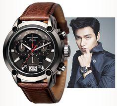 ROMANSON cf mode Lee Min-ho 李敏鎬 Лі Мін Хо PREMIER Dynamic Jigsaw PL1219HM2DB32W Lee Min Ho, Minho, Omega Watch, Watches, Wrist Watches, Tag Watches, Watch