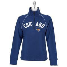 Forty Seven Brand Juniors Chicago Cubs Blitz Zip Jacket- I LOVE this but I can't justify $82 on it... even with my discount.