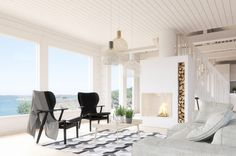 Saari collection is a holiday home inspired by Finnish Archipelago.