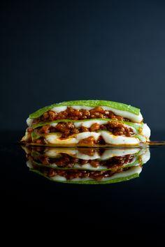 Spinach lasagna with Robiola Bechamel by www.zencancook.com