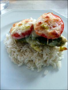 poulet pesto tomate riz 2