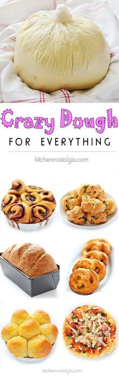 Crazy Dough Recipe Easy Video Tutorial