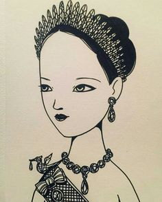 "@jukkoowong18  -  ""งามสมบรมราชินีนาถ💙"" #เรารักในหลวง #ขอเป็นข้ารองพระบาททุกชาติไป #longlivetheking #kingofthailand #illustration #drawing - #regrann"