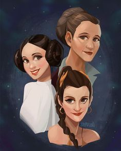 Artists and Designers Around the World Pay Tribute To Carrie Fisher - UltraLinx