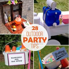 28 Tips for Stress-Free Outdoor Party