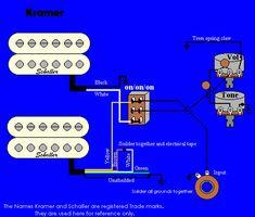 Wiring Diagrams Guitar Humbuckers - http://www.automanualparts.com/wiring-diagrams-guitar-humbuckers/
