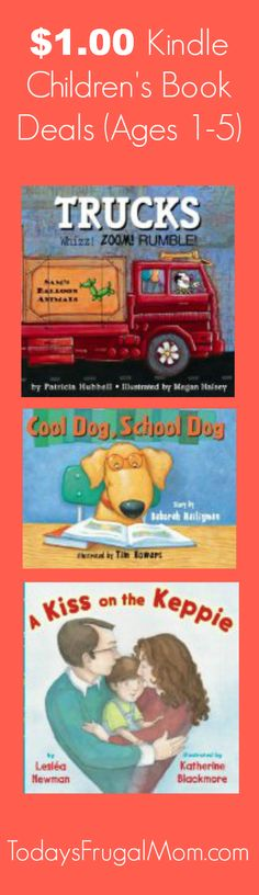 $1.00 Kindle Children's Book Deals (Ages 1-5) :: Today's Frugal Mom