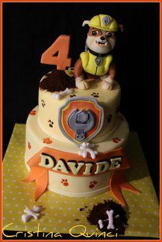 Rubble Paw Patrol cake - Cake by Cristina Quinci