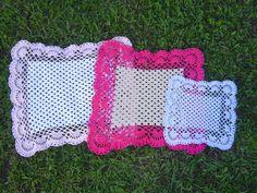 Carpeta cuadrada a crochet paso a paso parte 1/2