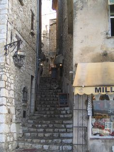 Street at Saint Paul de Vence,France