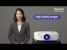 Introduction of EZ770Z series high brightness LCD projector from Panasonic