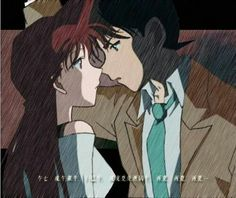 Wow   Ran x Shinichi    Is this fake.. Because it looks really good.   Detective Conan