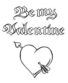 Valentine& Day Printable Coloring Pages Inspirational Be My Valentine A Magic Word Valentine S Day Coloring Heart Coloring Pages, Online Coloring Pages, Coloring Pages For Boys, Coloring Pages To Print, Coloring Sheets, Printable Valentines Coloring Pages, Valentines Day Coloring Page, Free Printable Coloring Pages, Valentines Day Cartoons