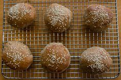 Recipe: Spent Grain Burger Buns! The perfect bun is the foundation for an amazing burger. Firm enough to hold everything in one place--meat, condiments, sauce--but soft enough to give when you bite into it. Beyond the basics, what we love about our burger bun is that it's made with spent grain, which means the ideal pairing of beer and burgers just became an even better match.
