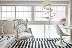 Virlova Style: [Interior] Un estudio en blanco Vintage