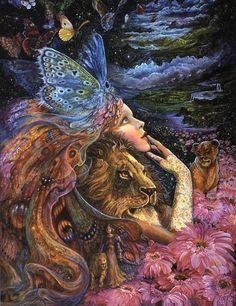 """Heart and soul"" by Josephine Wall"