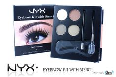 """1 NYX EYEBROW KIT WITH STENCIL """"Pick Your 1 Color!""""   eBay"""