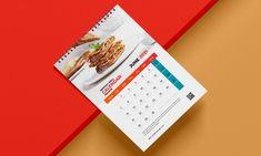 Calendar Design, Showcase Design, Mockup, Branding, Free, Brand Management, Miniatures, Identity Branding, Model
