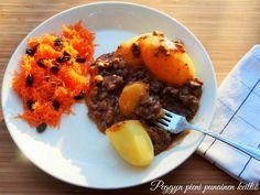 Murukastike eli jauhelihakastike — Peggyn pieni punainen keittio