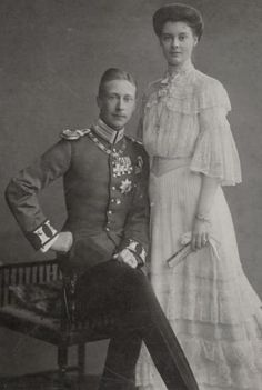 Crown Prince Wilhelm and Crown Princess Cecilie of Prussia, nee of Mecklenburg-Schwerin Prince Héritier, Prince Crown, Queen Victoria Prince Albert, Princess Victoria, Queen Victoria Descendants, Empress Sissi, German Royal Family, Adele, Reine Victoria