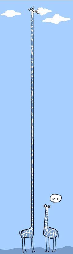 this giraffe took too long to pin (har har har)
