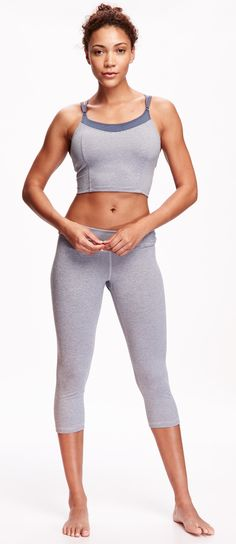 ♡ women's workout clothes fitness apparel must have workout Sports Bra Outfit, Yoga Pants Girls, Yoga Bra, Womens Workout Outfits, Unique Outfits, Workout Wear, Swagg, Crop Tops, Fun Workouts