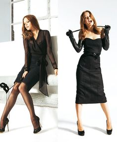 Femme Fatale: 7 Sweing patterns with Drama, from Burda Style