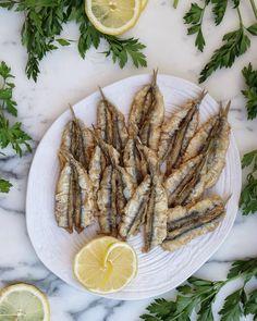 5 frituras de pescado