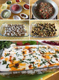Ekmek Kebabı Tarifi nasıl yapılır? 12.214 kişinin defterindeki Ekmek Kebabı Tarifi'nin resimli anlatımı ve deneyenlerin fotoğrafları burada. #ekmek #yemek #patlıcan #fırın #kebap #ramazan