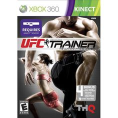 UFC Personal Trainer (Xbox 360) (00752919552391) Intense Mixed Martial Arts Exercises - Learn over 70 MMA and NASM-approved exercises, including moves from wrestling, kickboxing and Muay Thai, that are designed to improve strength, endurance and conditioning. Customizable Workout Routines - Create and save workout routines for a completely customizable experience. Hit The Mitts - Hit the mitts against popular UFC personalities in a variety of challenging speed and striking drills. Dedicated…