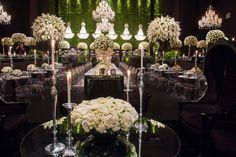 Casamento de luxo - Betina e Gustavo - Decoração clássica
