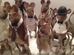 My lovely friend Christel Jensen's adorable mice!
