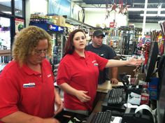 Katelyn and Billi Jo at ckhardware.com