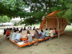 Le Brasero - Atelier d'urbanisme utopique Bordeaux (33) – Quartier de la Benauge – 2011