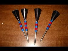 How to make The Ultimate Paper Cone Blow Dart