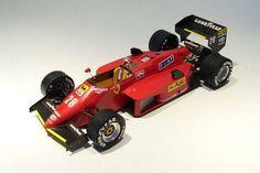 F1 Paper Model - 1985 GP Canada Ferrari 156/85 Paper Car Free Template Download…