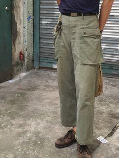 全新 特 日本制 TCB 越战军裤 USMC M-44 P44 Crawling Pants 绿-淘宝网
