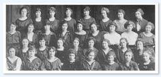 Phi Mu Barker College 1920